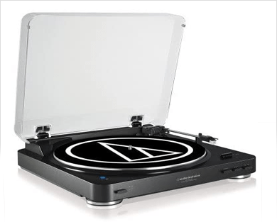 giradiscos audio technica lp 60