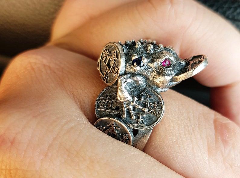 anillo sapo
