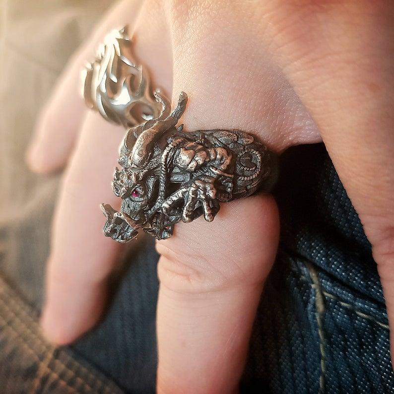 anillo dragón