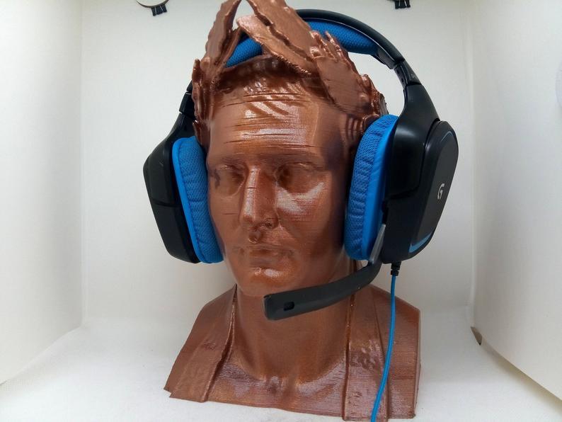cabeza porta-auriculares