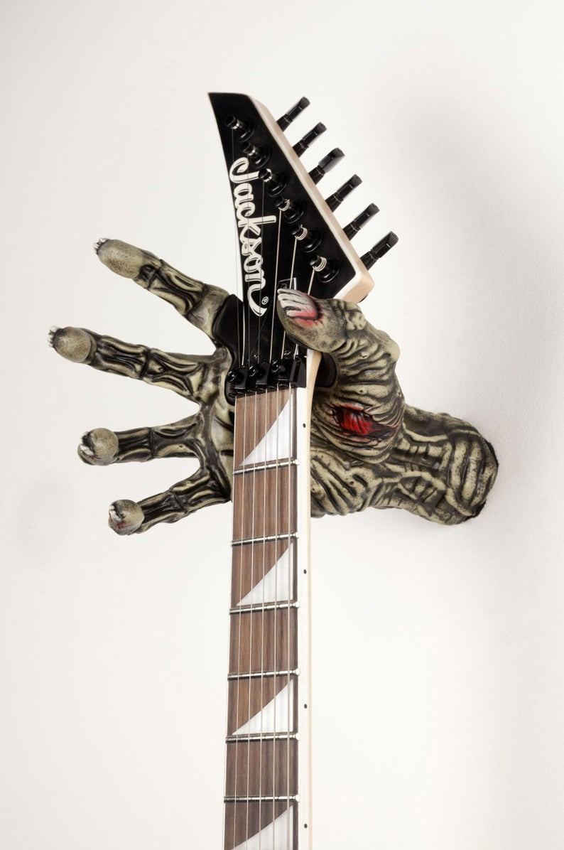 colgador guitarra zombi