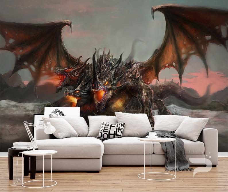 dragón habitación