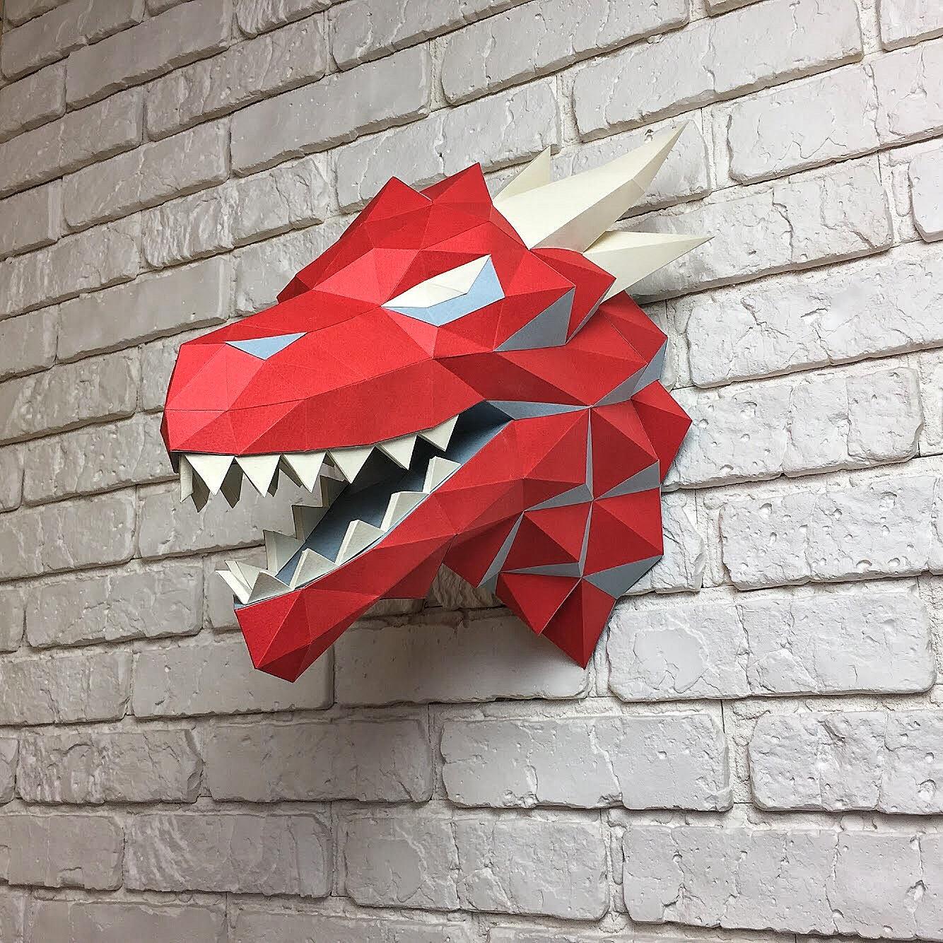 cabeza dragón