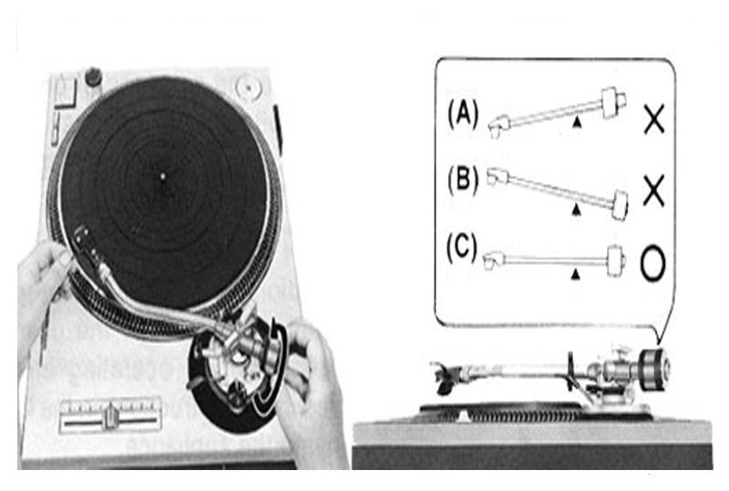 regulador de altura tocadiscos, giradiscos o tornamesa
